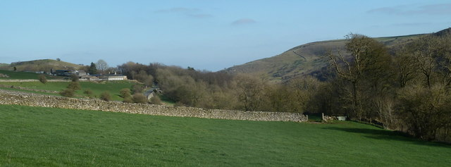 Gentle slopes above Miller's Dale