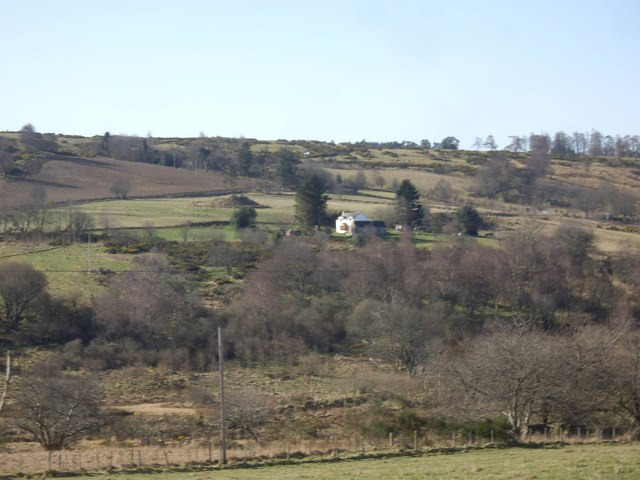 View over Rough Haugh Burn to Backhill