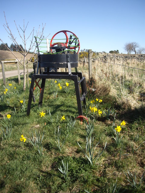 An 'ornamental' farm implement (1)