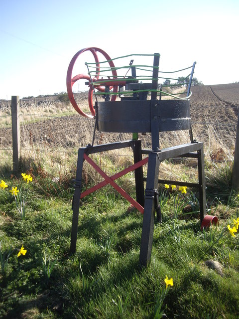 An 'ornamental' farm implement (2)