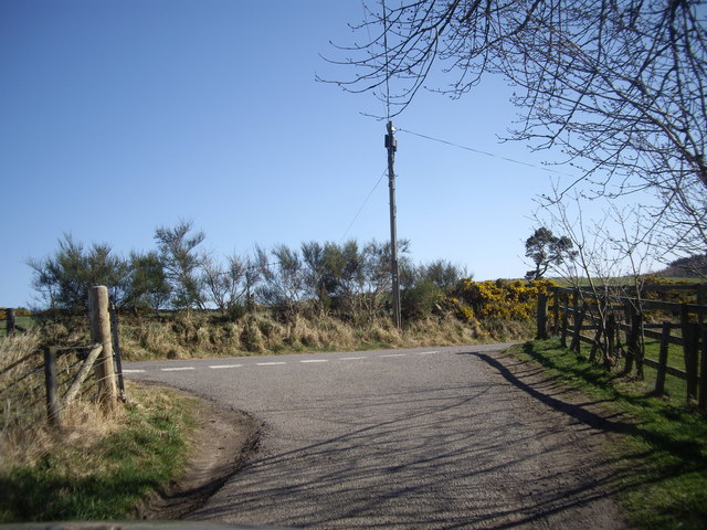 Upper Cromers road junction