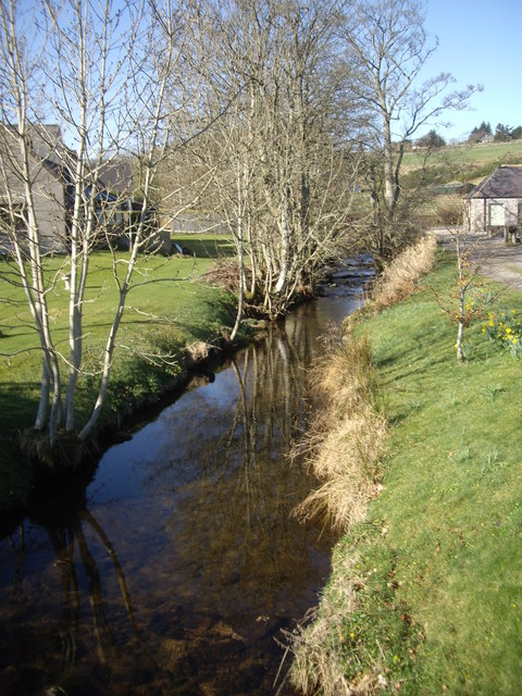 Upstream the burn in Comers