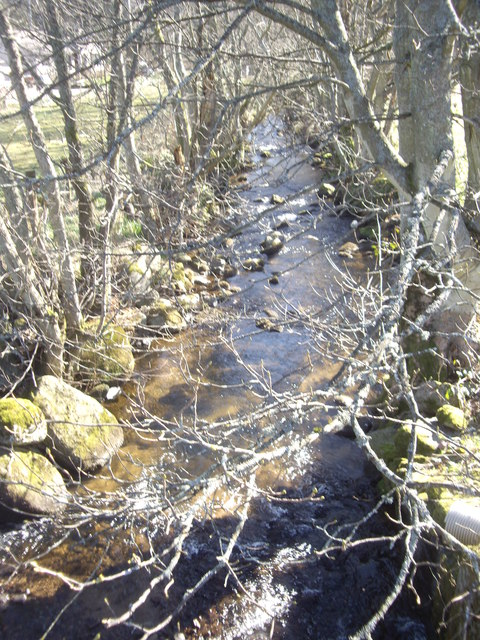Downstream of the burn through Comers