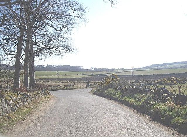 Approach to Tillybirloch junction