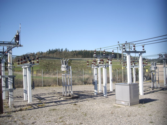 Midmar Electricity Sub-station; switching gear