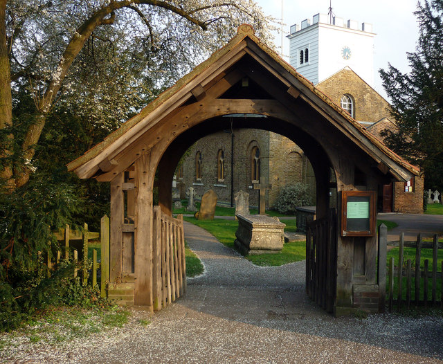Lychgate, St Andrew's Church, Totteridge