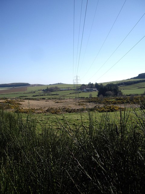 Electricity Pylon east of B9119 near Auchintoul