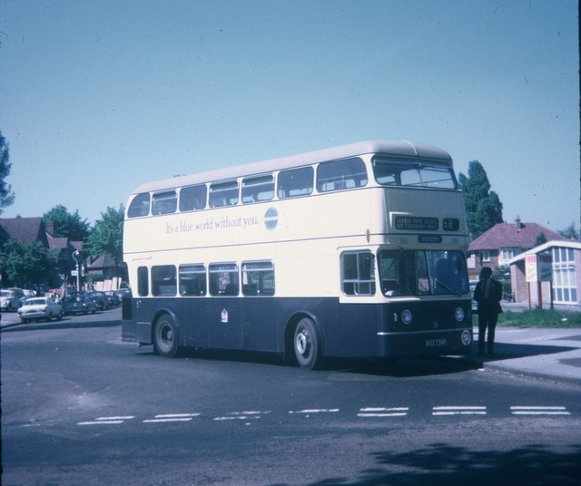 A Birmingham bus at Sheldon Terminus (1)