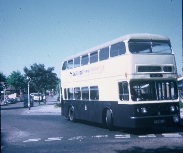 A Birmingham bus at Sheldon Terminus (2)
