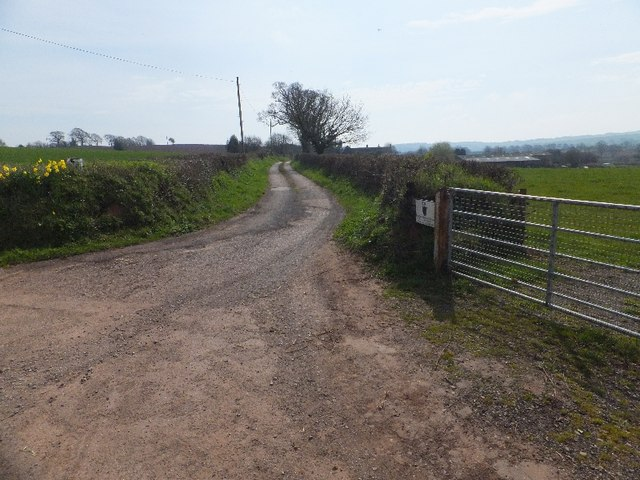 Access road for Paulsland House