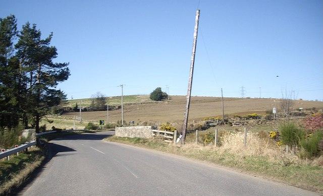 Approach to Auchorie Bridge