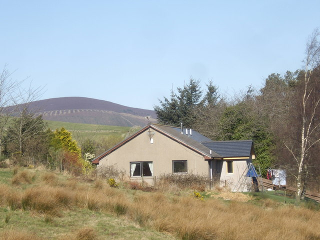 Cottage by Auchorie Burn