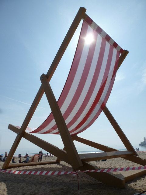 Bournemouth: in the shadow of a giant deckchair