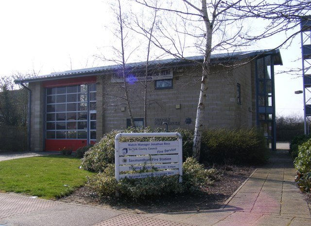 Saxmundham Fire Station