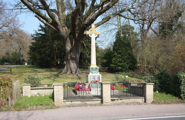 War Memorial, Theydon Bois