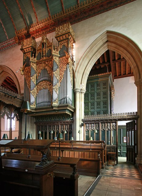 St John the Baptist, Epping - Organ