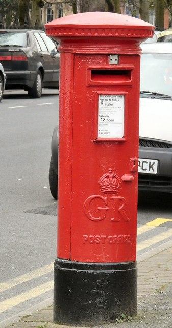 George V Postbox (M12 78)
