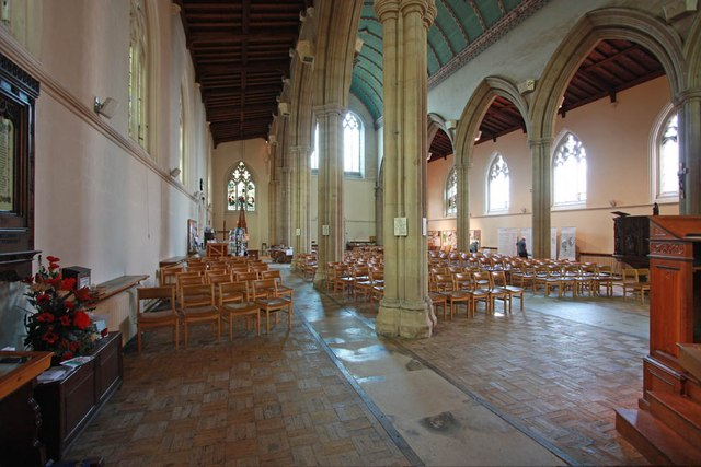 St John the Baptist, Epping - Interior