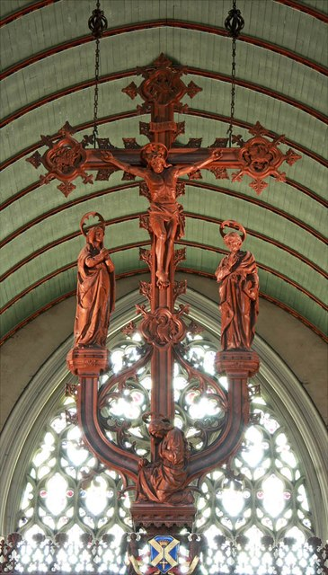 St John the Baptist, Epping - Hanging rood