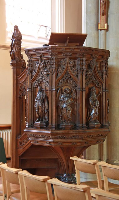 St John the Baptist, Epping - Pulpit