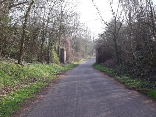 Former railway bridge over Breedon Lane