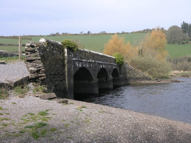 Old road bridge in The Gearagh
