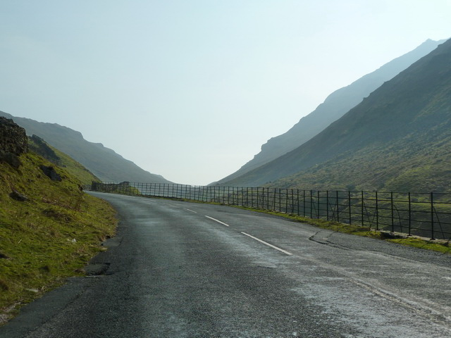 A592 west of Caudale Moor