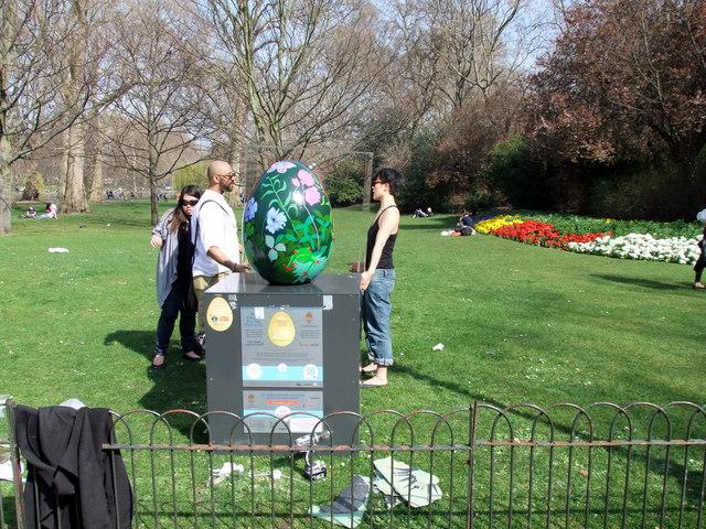 Egg 82 in The Fabergé Big Egg Hunt