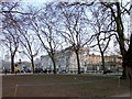 TQ2979 : Buckingham Palace from Green Park by PAUL FARMER
