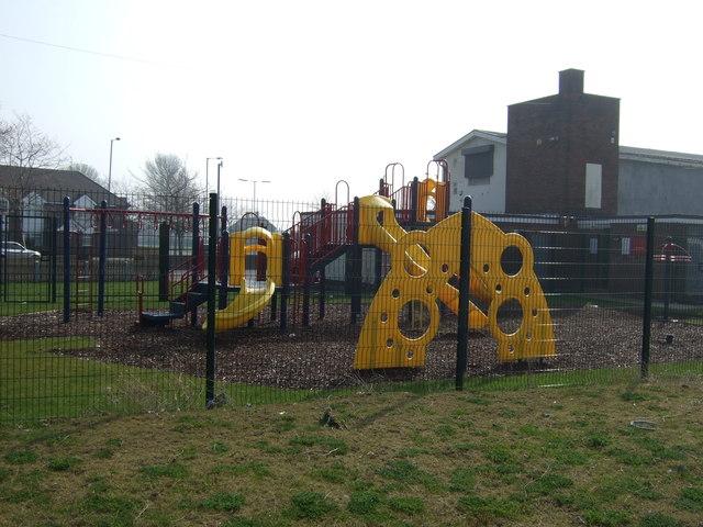 Playground, Ganworth Road, Speke © JThomas :: Geograph ...