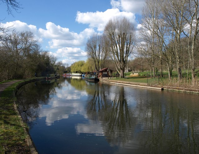 Grand Union Canal near Perivale