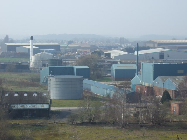 Chemical works, Hale Bank