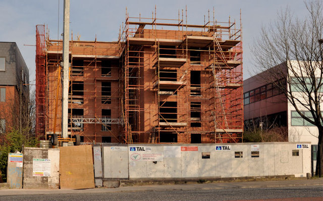 New apartments, east Belfast (2-4)