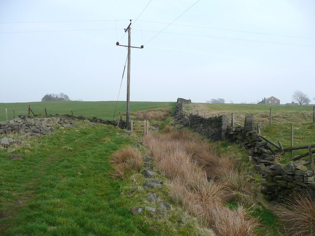 Footpath from Moorland Cottages to New Road