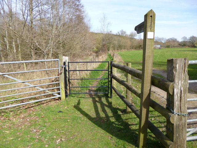 Stuckton, gate