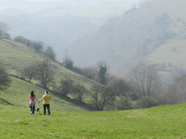 Downhill from Wetton