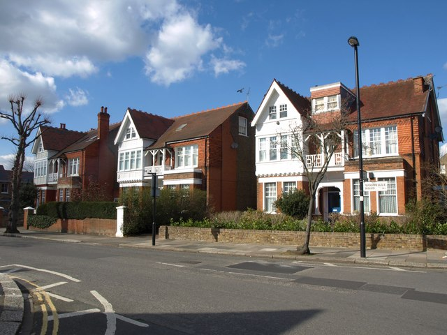 Houses on Woodville Road, Ealing