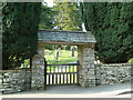 NY4102 : Jesus Church, Troutbeck, Lych gate by Alexander P Kapp