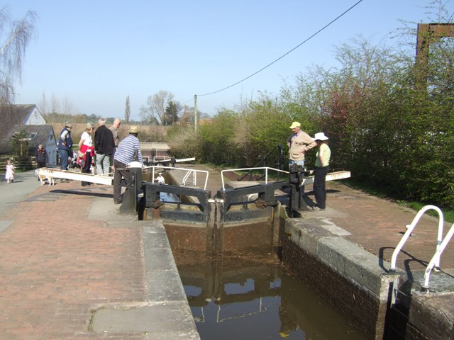Grindley Brook Staircase Locks - Top Lock - Lower Gate