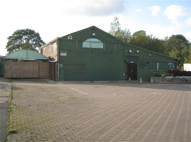 Closed and derelict garden centre