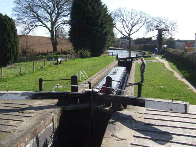 Grindley Brook Locks - Bottom Lock