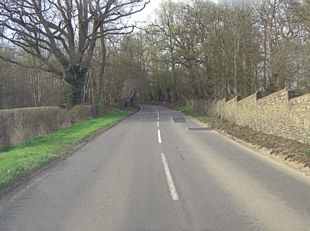 Common Hill climbs into Hillclose Wood