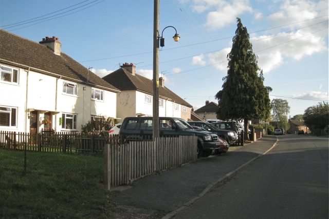 Former council houses, King's Newnham Road