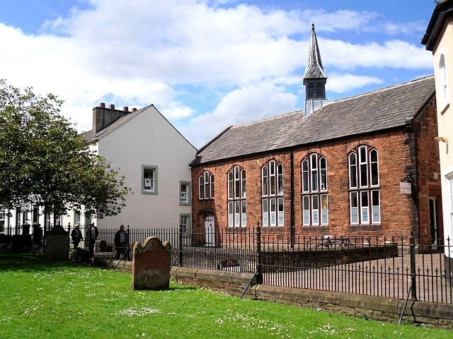 Former school, now a library