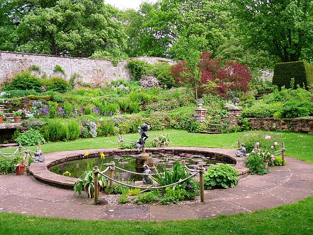 Garden pond, Acorn Bank