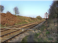 SJ6195 : Railway Footcrossing, Highfield Moss by David Dixon