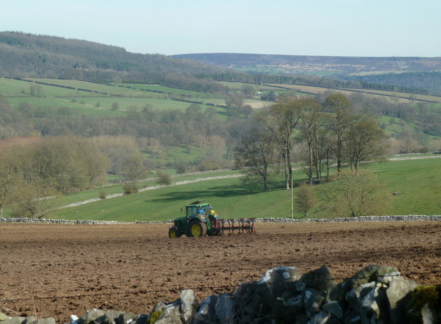 Wye valley farmland near Bakewell