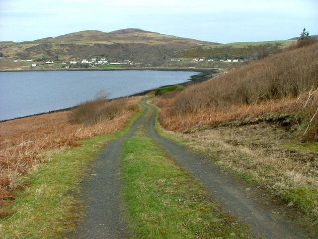 Track leading from No.5 South Cuil
