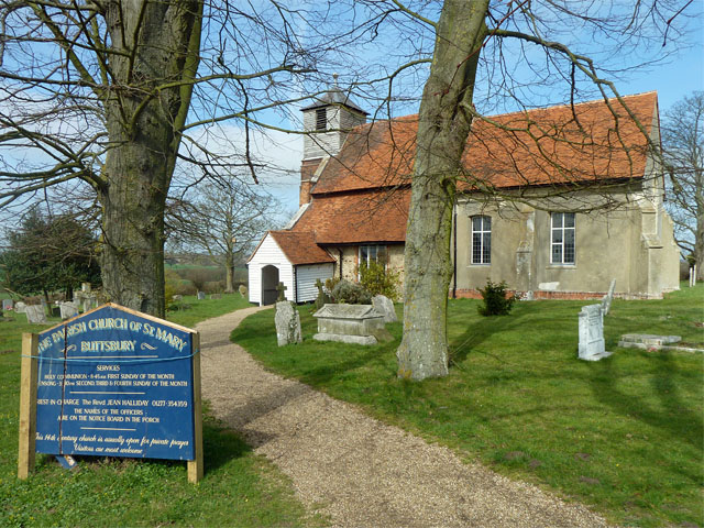 The parish church of St Mary, Buttsbury