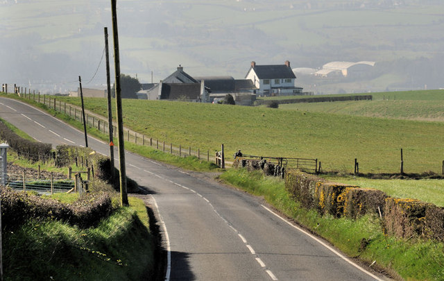 The Ballyregan Road near Dundonald (1)
